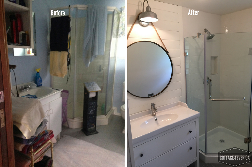 Renovating a cottage bathroom in only four days