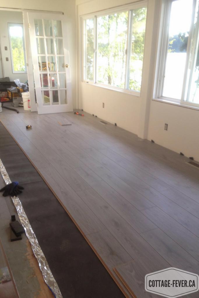 laminate flooring cottage