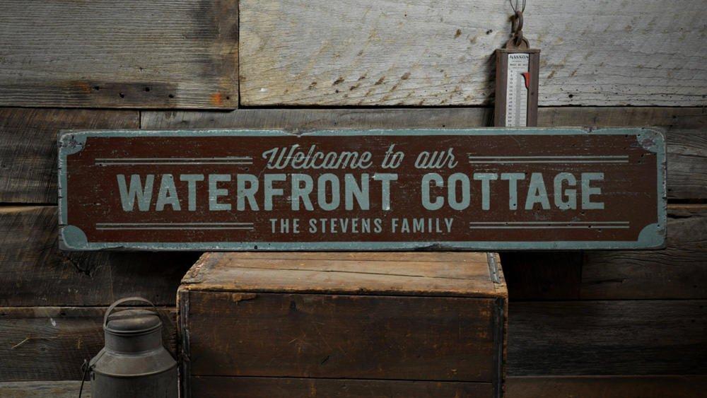custom cottage sign