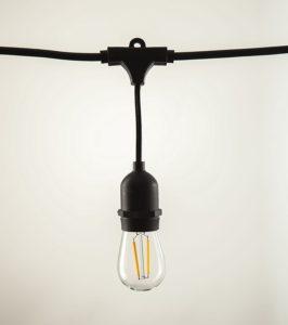 vintage edison bulb patio lights