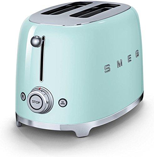 Smeg green toaster