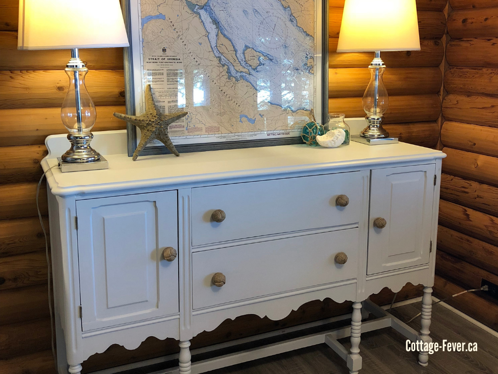 8 Beachy painted furniture makeovers