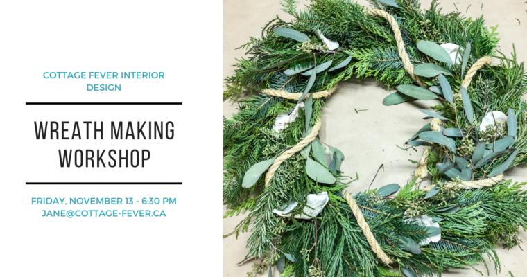 Wreath Making Workshop Comox Valley